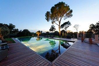 piscine nuit