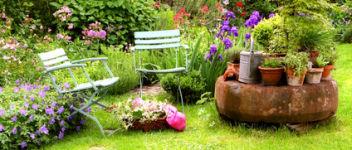 jardinage été