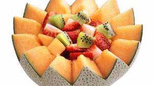 salade fruit melon fraise kiwi