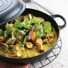 curry coquillage