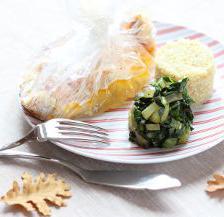papillote de pageot aux blettes braisées au curry et quinoa
