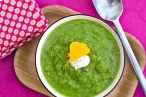 soupe asperge verte au fromage frais