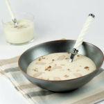 Crème de haricots tarbais à l'huile de noisette