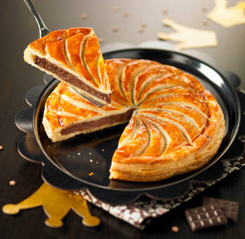 galette frangipane chocolat