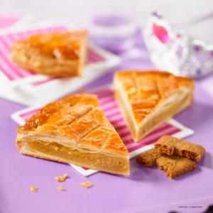 galette frangipane speculoos
