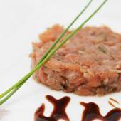 tartare saumon ciboulette