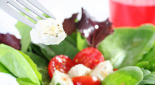 salade epinard tomate chevre