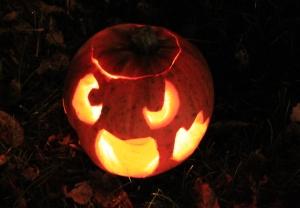 Carve a pumpkin for Halloween!