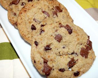 cookies chocolat moelleux