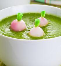 soupe fanes radis