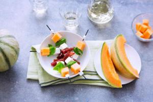 recette melon magret