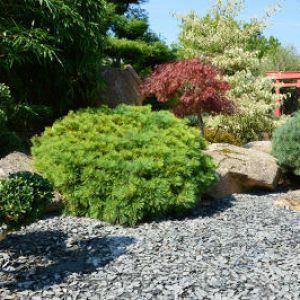 Ardoise un joli paillis pour les massifs for Sujet decoratif pour jardin