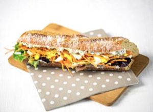 Sandwichs végétariens