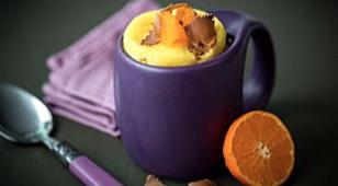 mug cake clementine chocolat