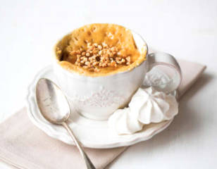 cake yaourt caramel
