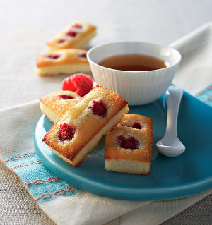 Financier framboise