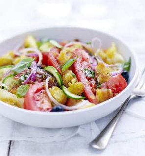 Panzanella de tomates