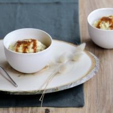 risotto lait de foie gras