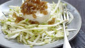 Salade pelardon