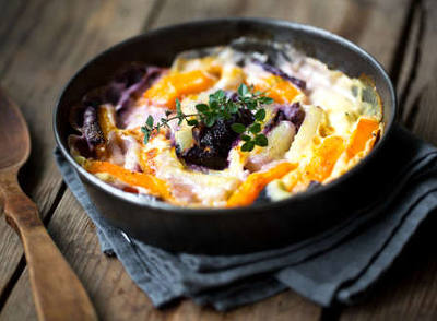 gratin de legume au fromage