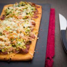 pizza thon courgette