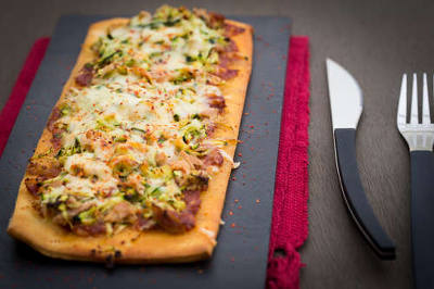 pizza thon courgette