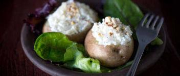 pomme de terre farcie fromage frais