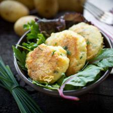 croquette de pomme de terre au fromage saint-nectaire