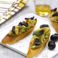 Brandade d olives vertes