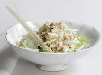 remoulade pomme crabe