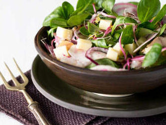 salade betterave fromage poisson fume