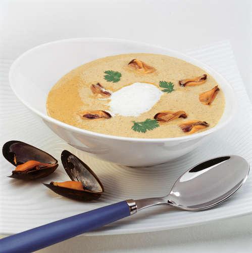 soupe de moule au curry