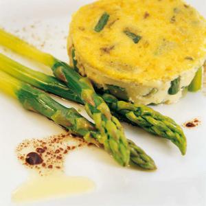 Flan d 39 asperges vertes la d licieuse recette - Cuisiner les asperges vertes ...