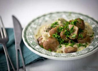 Rognon de veau sauce moutarde l 39 ancienne - Recette de rognons de veau ...