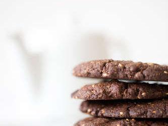 cookies au chocolat noir
