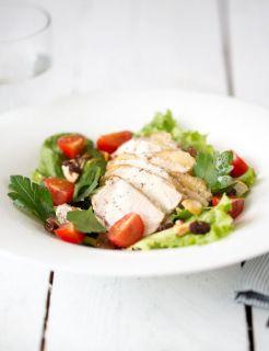 salade de pintade aux fruits secs
