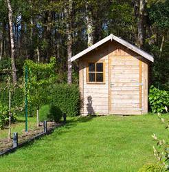 Acheter un abri de jardin en bois m tal ou pvc for Acheter un abri de jardin