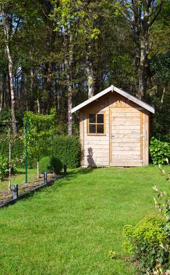 Acheter un abri de jardin en bois m tal ou pvc - Ou acheter des copeaux de bois pour jardin ...