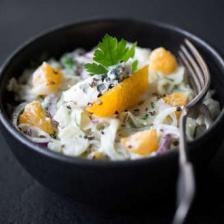 Salade de fenouil à l'orange et fourme d'ambert