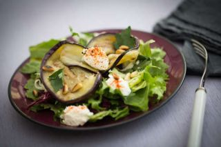 SALADE D'AUBERGINE AU FROMAGE