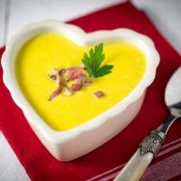 Veloute de legumes au fromage neuchatel