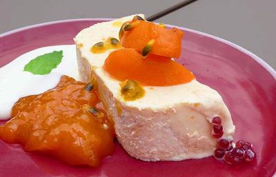 Recette Parfait glace fruits