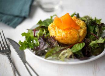 Bouchees de carottes au fromage