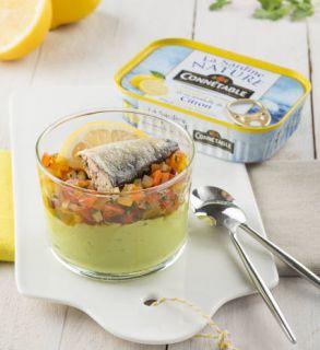 Verrine sardine tomate cerise