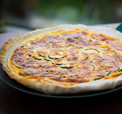 quiche courgette fromage