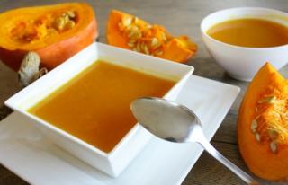 soupe potimarron châtaigne