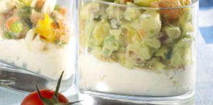 tartare de legumes a la brousse