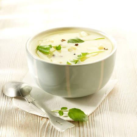 Soupe de pommes de terre au comte