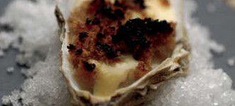 huitre gratinee morbier