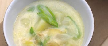 soupe cremeuse au munster